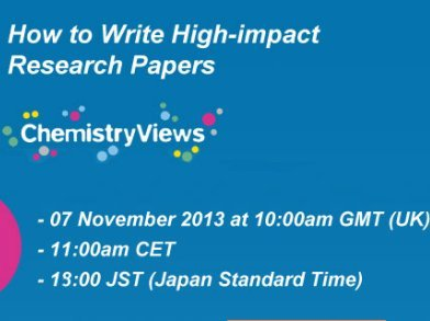 chemistry views webinar